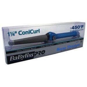 BaByliss PRO Nano Titanium ConiCurl Iron Boxed